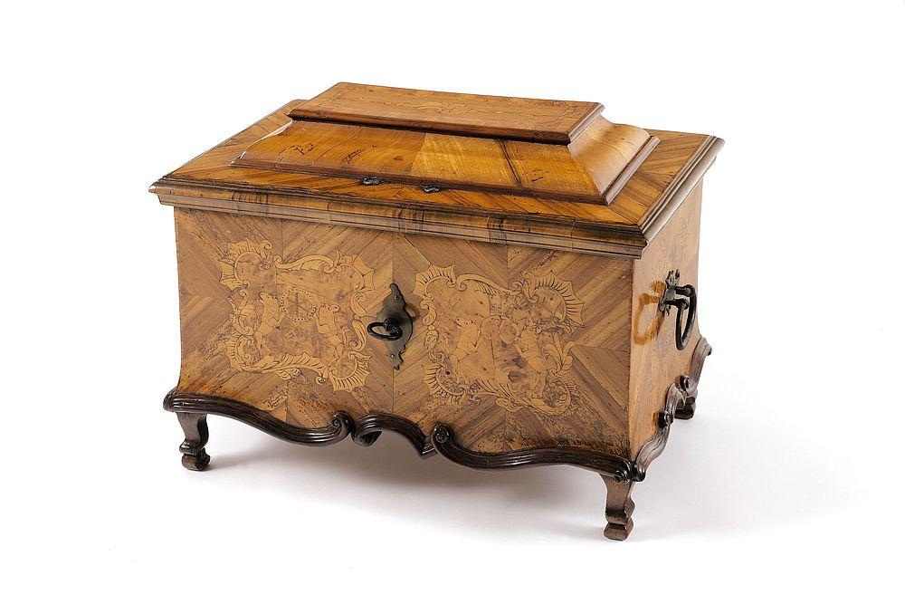 Zunfttruhe Bäcker Süddeutschland/Österreich 1769 Holz