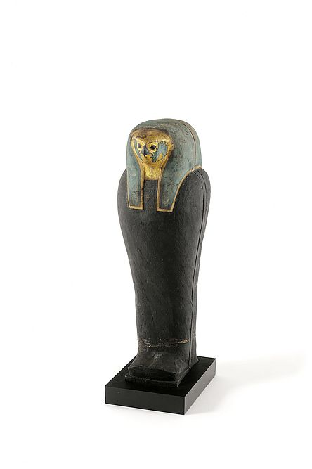 Kornmumie, Ägypten, 600-400 v. Chr, Holz, Schlamm, Getreidekörner, Binden