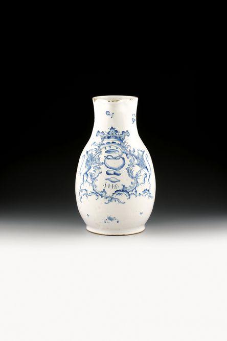 Zunftkrug Bäcker Ludwigsburg/Deutschland 1763 Fayence glasiert