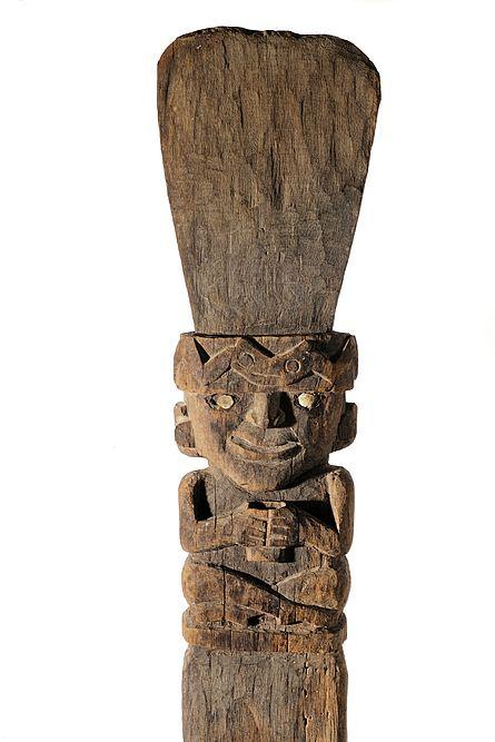 Totempfähle, Peru, 600-1000 n. Chr., Stachelpalmenholz