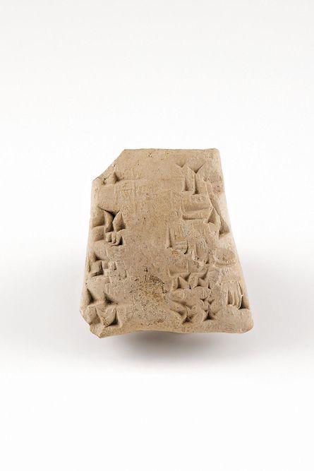 Tonbulle, Mesopotamien, 1877 v. Chr., Ton